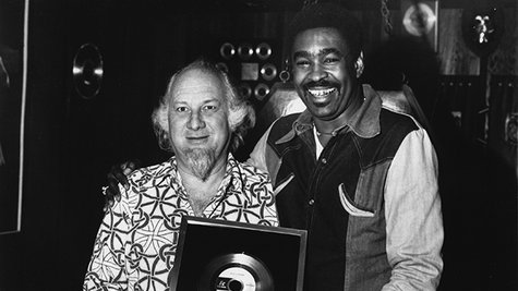 Image courtesy of Henry Stone (L) with George McCrae; Gilles Petard/Redferns (via ABC News Radio)