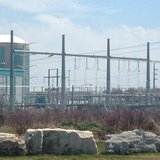 The shuttered Kewaunee Power Station nuclear plant is seen, May 9, 2014. (Photo from: FOX 11).