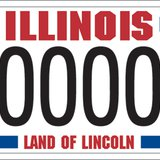 Illinois Gold Star Plate