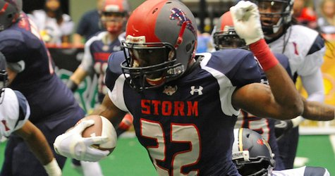 Storm RB Tory Harrison. Image courtesy IFL