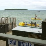 Nicolet Beach Rentals in Door County. (Photo from: FOX 11/YouTube).