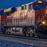 Burlington Northern Santa Fe Railroad. (Photo Courtesy Jerry Bender FB)