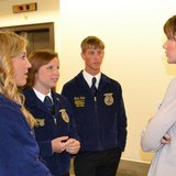 SD Representative talks to students from SD FFA. (noem.house.gov)