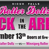 The Sioux Falls Roller Dollz will return to their former home, the Arena at the Denny Sanford PREMIER Center. (fb.rollerdolz.co,)