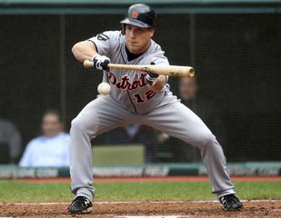 Detroit Tigers outfielder Andy Dirks