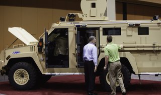 MRAP, similar to the vehicle that Saginaw Police no longer want. (reuters)