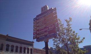 Downtown Kalamazoo. Image © Midwest Communications, Inc. 2014.