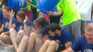 Boys and Girls Club of Portage County takes the Ice Bucket Challenge.