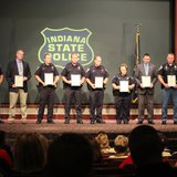 Officers recognized at award presentation