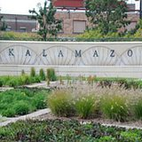 Kalamazoo sign. Image © Midwest Communications, Inc. 2014.