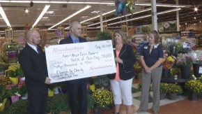 Hornbacher's donates proceeds from Cherries for Charity event