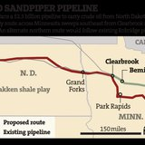 Minn. DNR Urges Reroute Of Sandpiper Crude Oil Pipeline