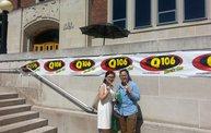 Q106 at MSUFCU - MSU Union (8-23-14) 1