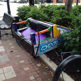 Community Piano vandalized