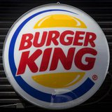 A Burger King logo is pictured in the Brooklyn borough of New York August 25, 2014. CREDIT: REUTERS/CARLO ALLEGRI