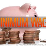 Minimum wage. Image © Midwest Communications, Inc. 2014.