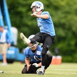 Detroit Lions kicker Nate Freese