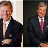 Former U.S. Senate leaders Tom Daschle (L) and Trent Lott (R) will participate in the inaugural lecture of the Daschle Dialogues at SDSU. Image:SDSU.edu