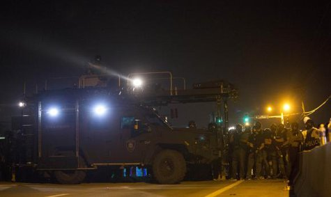 Missouri Police Sued For $40 Million Over Actions In Ferguson Protests. Picture Courtesy: Reuters
