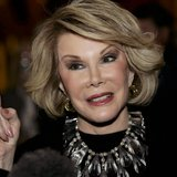 Comedian Joan Rivers 'resting comfortably' at hospital.  Photo Courtesy: Rueters