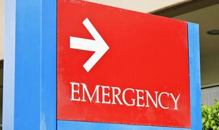 Emergency Room Sign (Photo Copyright Midwest Communications, Inc.)