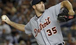 Detroit Tigers RHP Justin Verlander REUTERS/Mike Segar. UNDATED (WHTC) - Justin Verlander takes the mound as the Tigers open a four-game series in Chicago