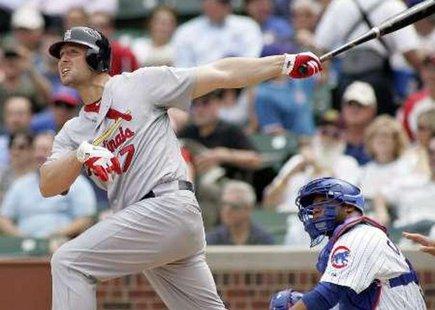 St. Louis Cardinals left fielder Matt Holliday REUTERS/Frank Polich