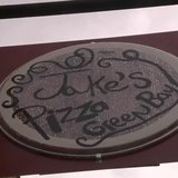 Jake's Pizza sign at new location on South Broadway in Green Bay. (Photo from: FOX 11/YouTube).