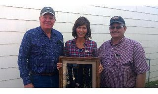 "Congresswoman Kristi Noem was named a ""Friend of the Prairie"" by the South Dakota Grassland Coalition.  Image: noem.house.gov/"