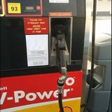 A gas pump. Image © Midwest Communications, Inc. 2014.