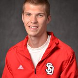 USD Cross Country athlete Bryant Haase. Photo courtesy USD Sports Information