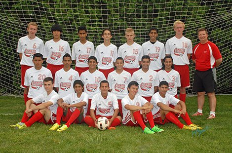 2014 Coldwater High School Varsity soccer team
