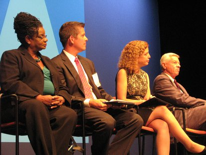 Members of Congress Gwen Moore, Sean Duffy, Debbie Wasserman-Schultz, Thomas Petri  Photo: Larry Lee © Midwest Communications