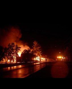 Restaurant fire in Dorset, Minn. 9/4/2014