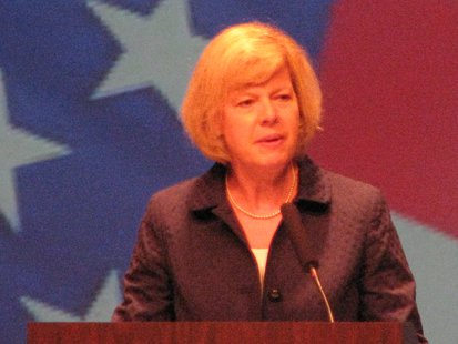 Senator Tammy Baldwin Photo: Larry Lee © 2014 Midwest Communications