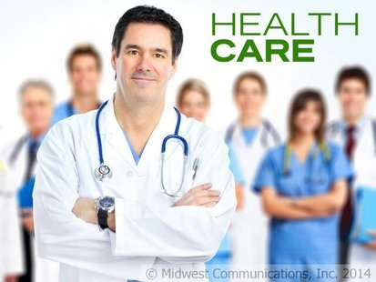 Health Care graphic (Midwesst Communications)