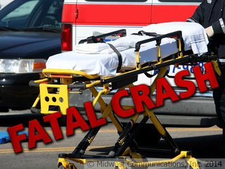Fatal Crash Graphic (Photo Copyright Midwest Communications, Inc.)