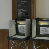 Voting Booths in Wisconsin (Photo from: FOX 11/YouTube).