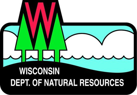 Wisconsin department of natural resources logo for Wi fishing license