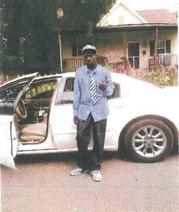 Levander Charles Lockett and suspect car