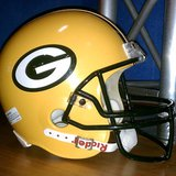 Green Bay Packers helmet (Photo from: FOX 11).