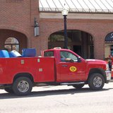 Holland BPW crew in Downtown Holland (photo courtesy Holland Board of Public Works)
