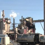 The Expera Thilmany Paper Mill in Kaukauna seen on September 7, 2014. (Photo from: FOX 11/YouTube).