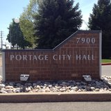 Portage City Hall. Image © Midwest Communications, Inc. 2014.
