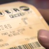 Powerball ticket printed from machine. (Photo from: FOX 11/YouTube).