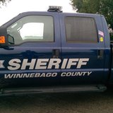Winnebago County Sheriff's truck. (Photo Copyright Midwest Communications, Inc.)