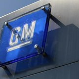 General Motors sign on the Renaissance Center in Downtown Detroit. (Credit:Reuters Jeff Kowalsky)