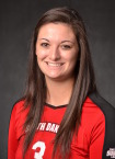 USD MB Melissa Firtko. Image Courtesy: USD Sports Information