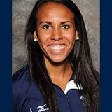 Augustana Volleyball DS Tahlyr Banks. Photo courtesy Augustana College sports information
