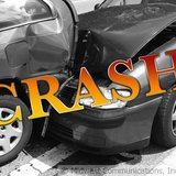Vehicle Crash Graphic (Photo Copyright Midwest Communications, Inc.)